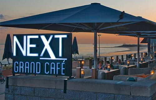 Terras van Grand Café Next in Vlissingen.