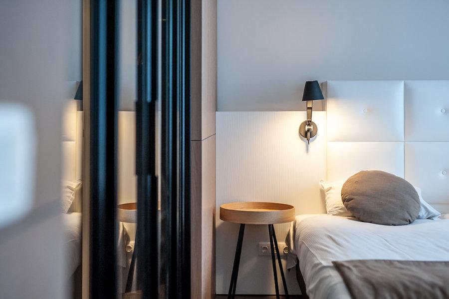 Hotelkamer in Stadshotel Goes.