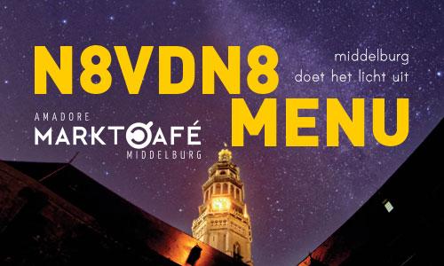 Foto - N8VDN8 menu bij MarktCafé