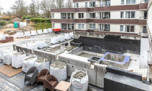 Foto - Miljoenen euro's brandschade bij hotel Kamperduinen: 'We nemen iedere centimeter onder handen'