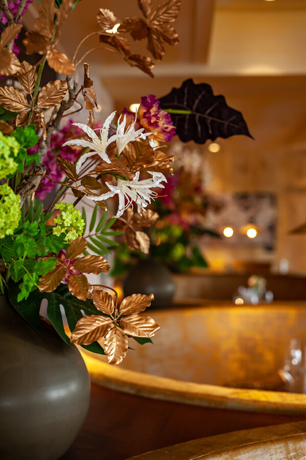 Amadore Domburg Sfeer bloemen.
