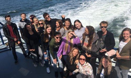 Foto - Amadore medewerkers van de maand op bezoek bij Prins & Dingemanse