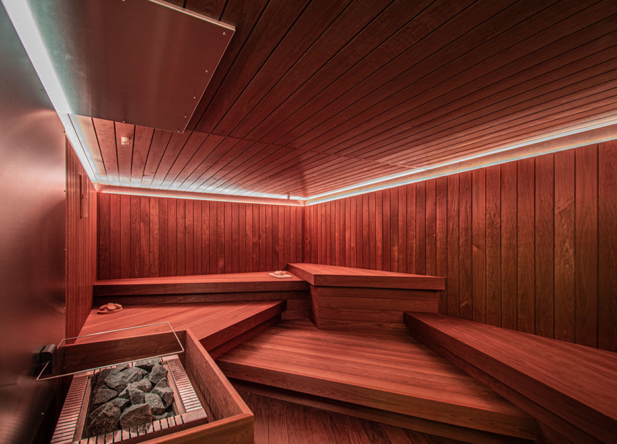 Sauna in de wellness van A-Thermen Zeeland.