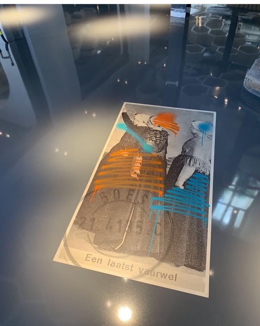 Amadore Het Postkantoor Goes postzegel vloer